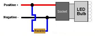 Turn Signal Led Load Resistor Wiring Diagram from zledslights.com