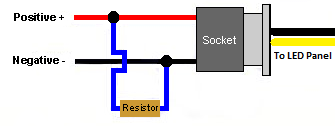 [DIAGRAM_38IS]  How do I wire a Load Resistor? – ZLEDSLIGHTS   Led Resistor Wiring Diagram Turn Signal Bulb      zledslights
